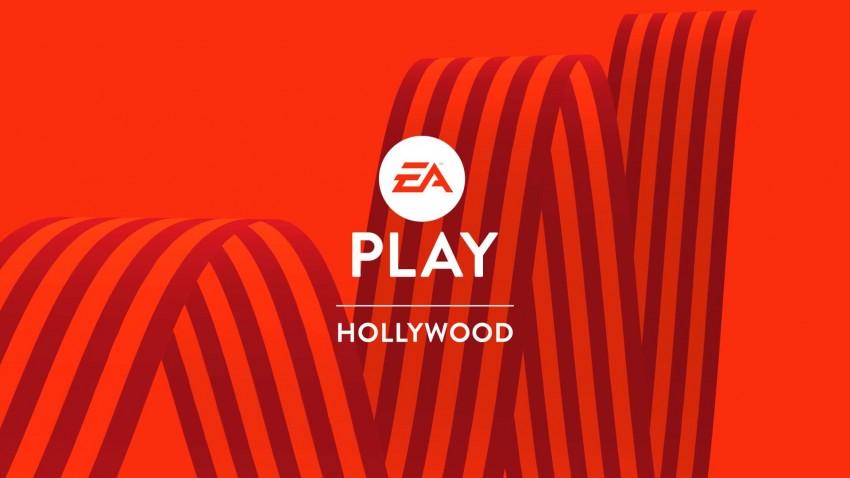 EA Play holliwood logo con sfondo rosso