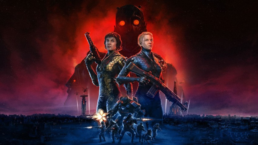 Wolfenstein Youngblood copertina no logo