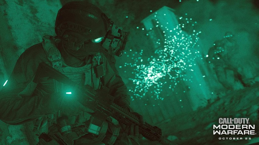 Call of duty modern warfare 2019 night vision