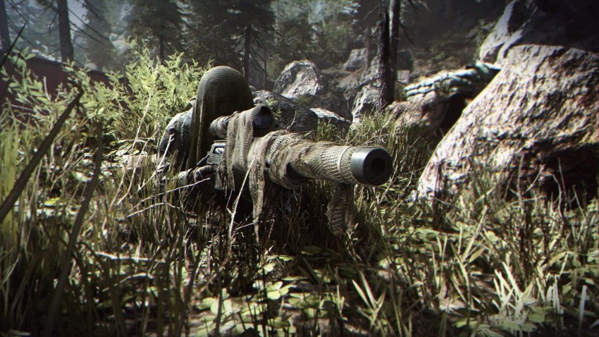 Call of Duty Modern Warfare sniper camo