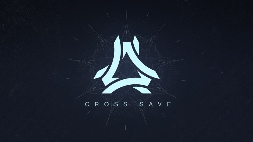 Destiny 2 Cross Save logo