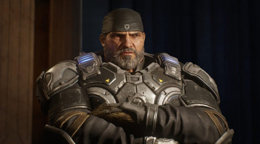 Gears 5 Angry Marcus