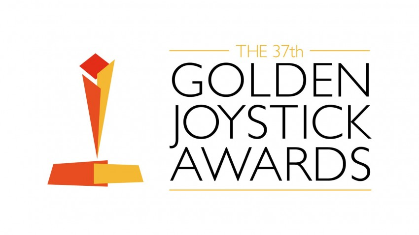 golden joystick awards 2019 logo bianco